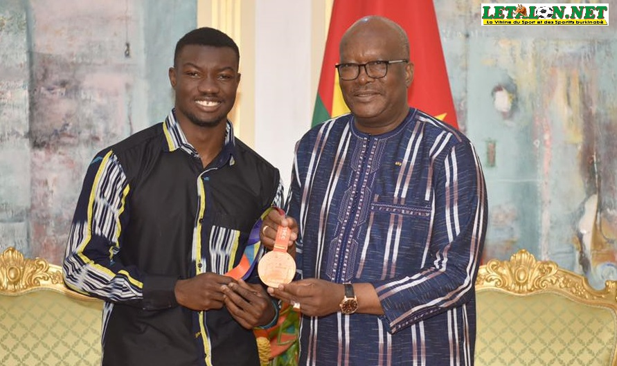 Fabrice Zango au palais présidentiel : les JO 2020 en ligne de mire