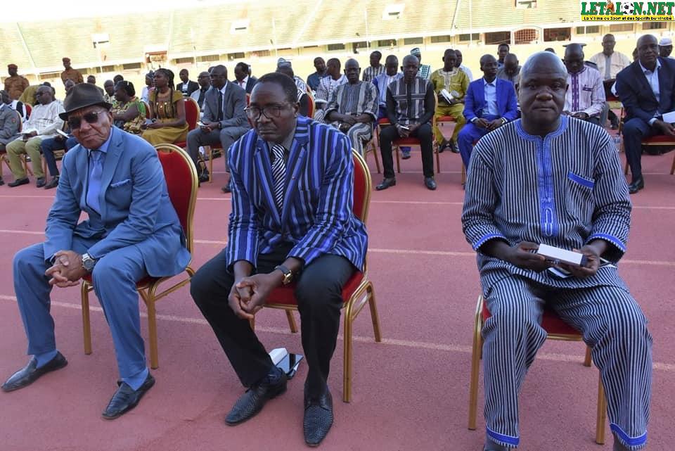 Burkina : le mérite de 99 acteurs du sport reconnu