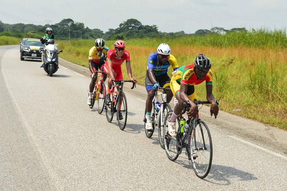 4e étape Tropicale Amissa Bongo : Aziz Nikiéma prend ses responsabilités et finit 4e