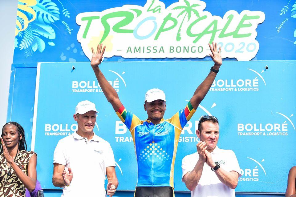 3e étape Tropicale Amissa Bongo : Paul Daumont récupère le maillot de la combativité