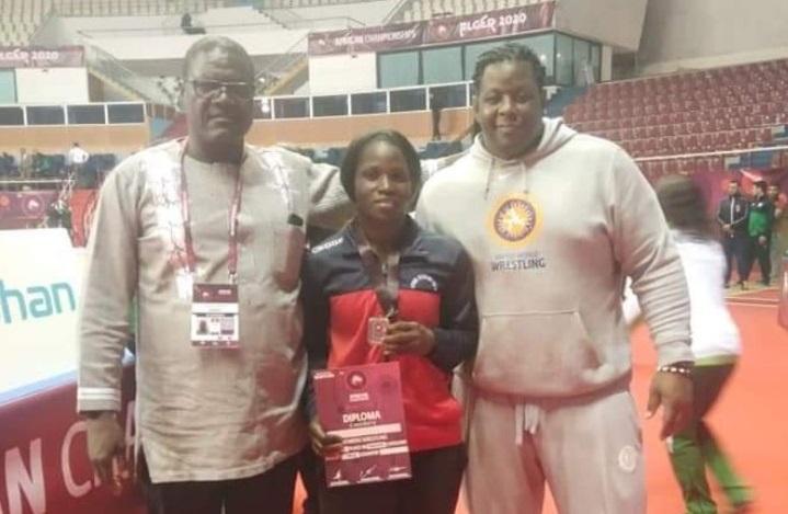 Championnat d'Afrique lutte olympique : la burkinabè Yvette Zié en bronze