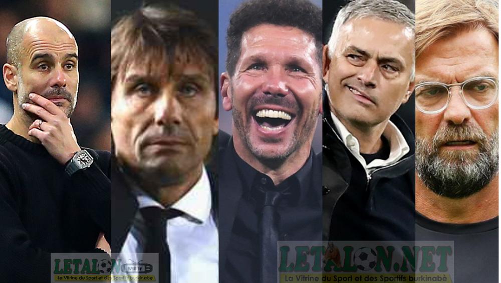 Foot : le top 10 des entraîneurs les mieux payés au monde
