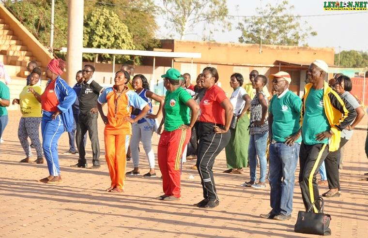 Koudougou : la LONAB communie avec ses clients à travers le sport