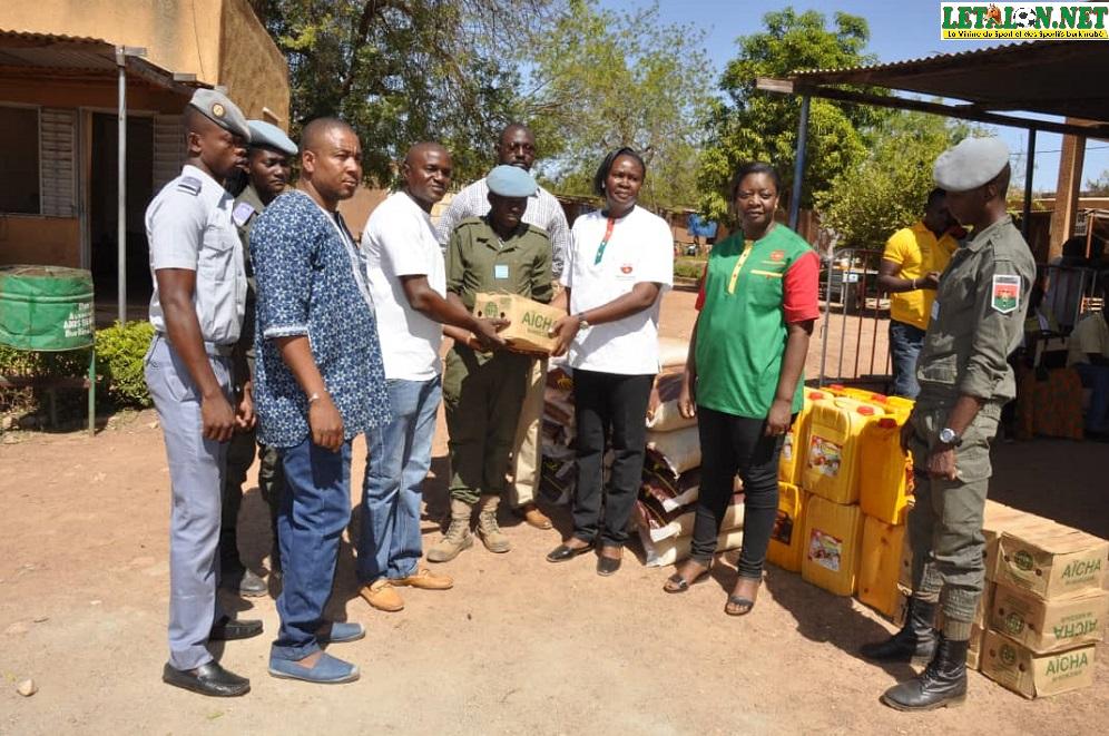 Agence LONAB Koudougou : des vivres pour la maison d'arrêt et de correction de Koudougou