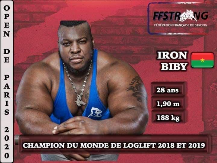 Strong Men : la fédération française choisi Iron Biby comme ambassadeur
