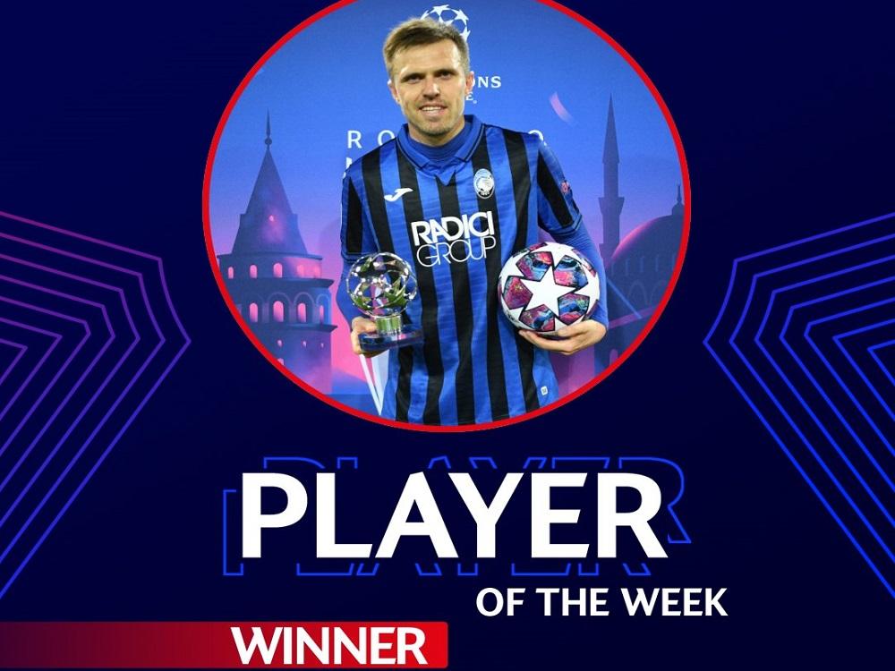 Ligue des champions : Josip Iličić (Atalanta Bergame) élu joueur de la semaine