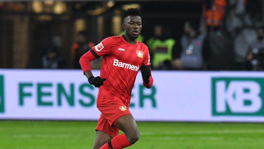 Leverkusen: Edmond Tapsoba de retour à la compet, 3 mois après