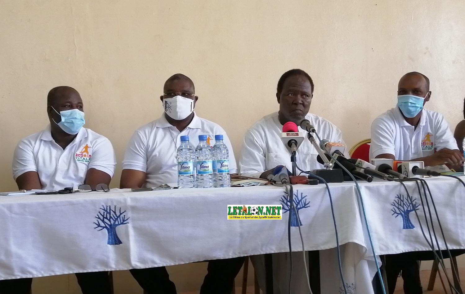 Election FBF: Amado Traoré présente son programme «Action Vitale»