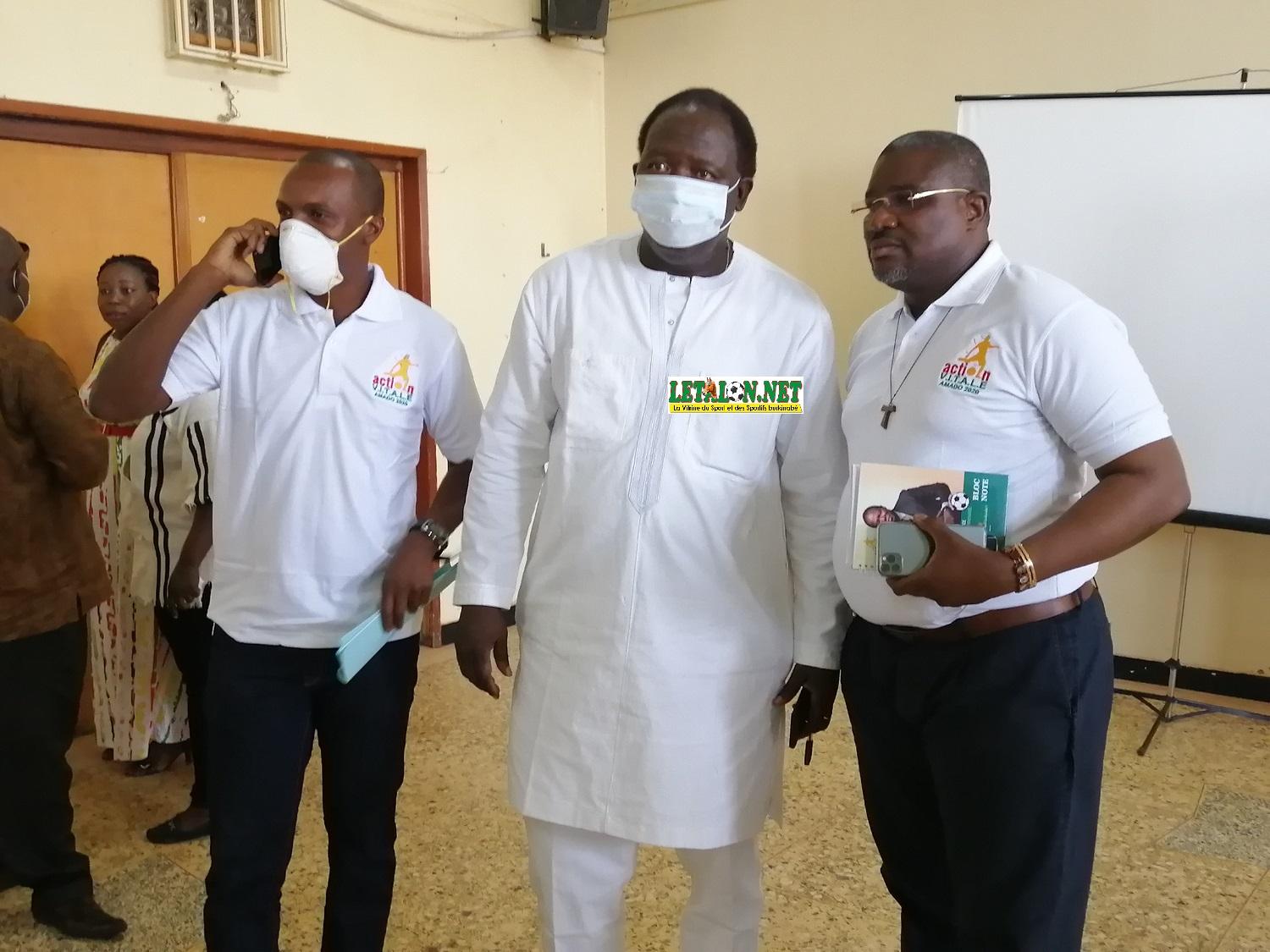 Election FBF : Amado Traoré lance sa campagne à Bobo