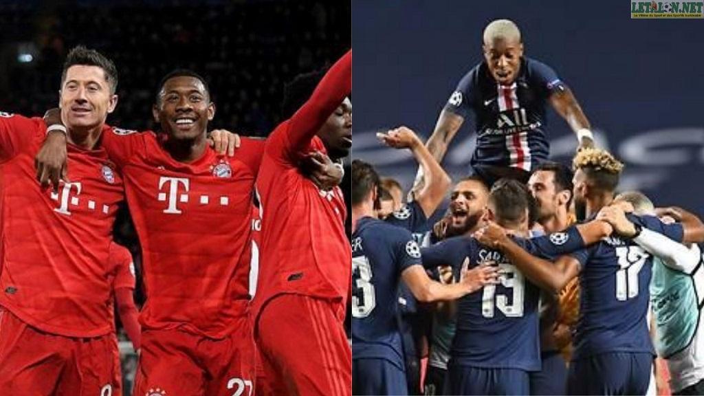 Ligue des Champions UEFA 2020:une finale inédite Bayern-PSG