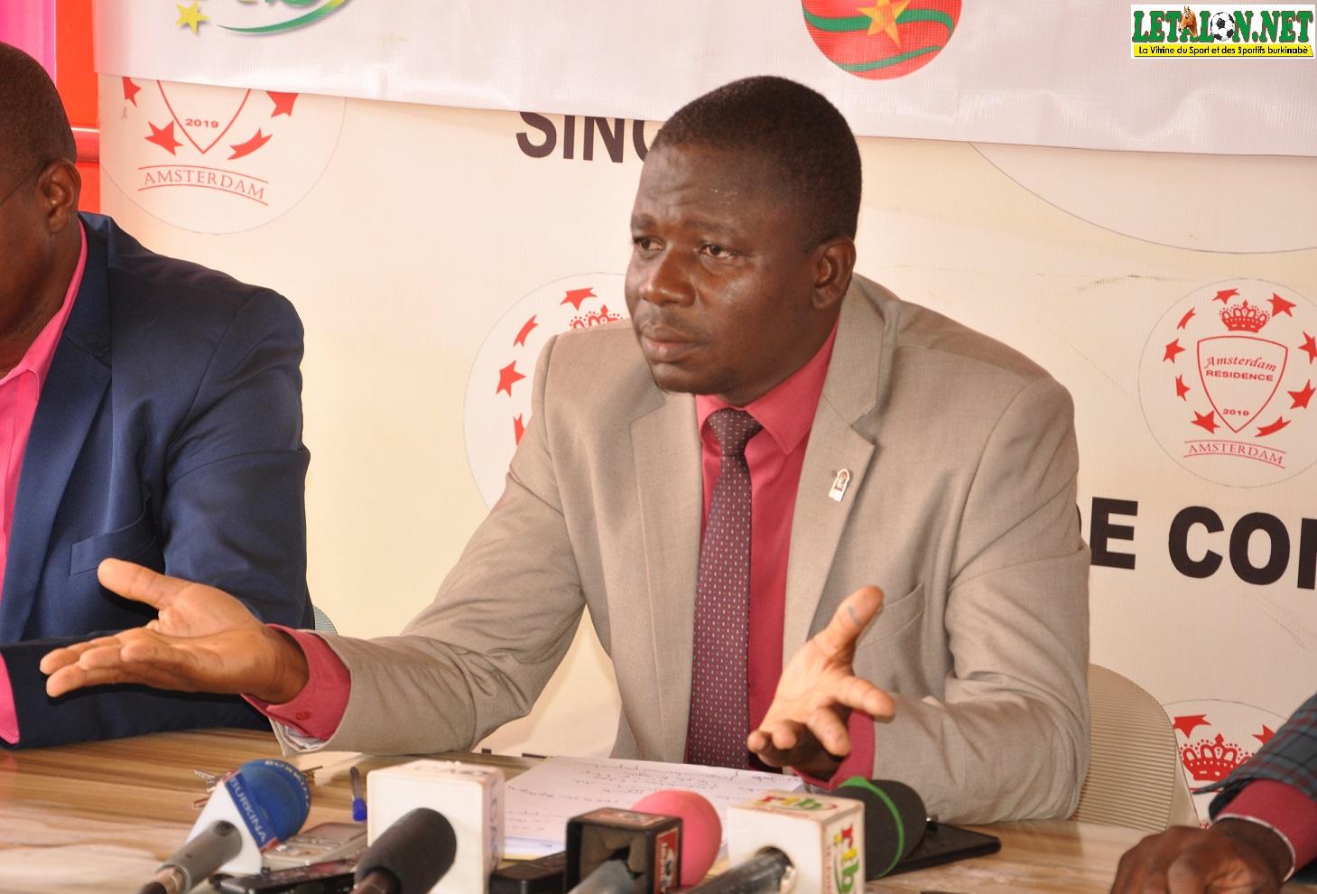 Jérôme Tiendrébéogo, président de l'AJSB: «J'invite mes confrères et consœurs à toujours agir dans l'intérêt supérieur du sport burkinabè»