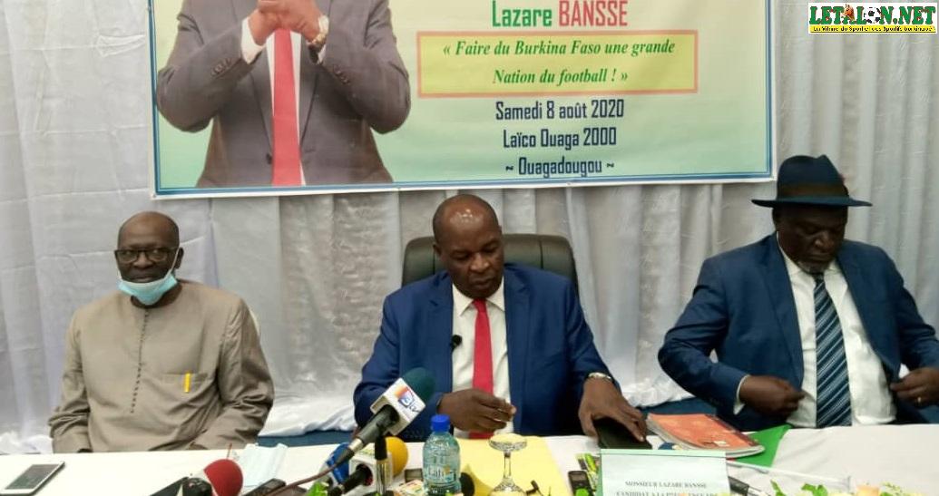 Élection FBF : Lazare Banssé dévoile son programme
