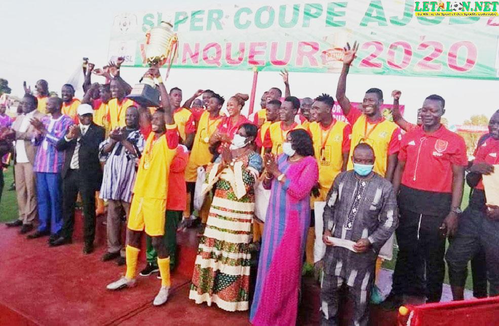 Super Coupe AJSB 2020 : Rahimo FC sur le toit du Burkina