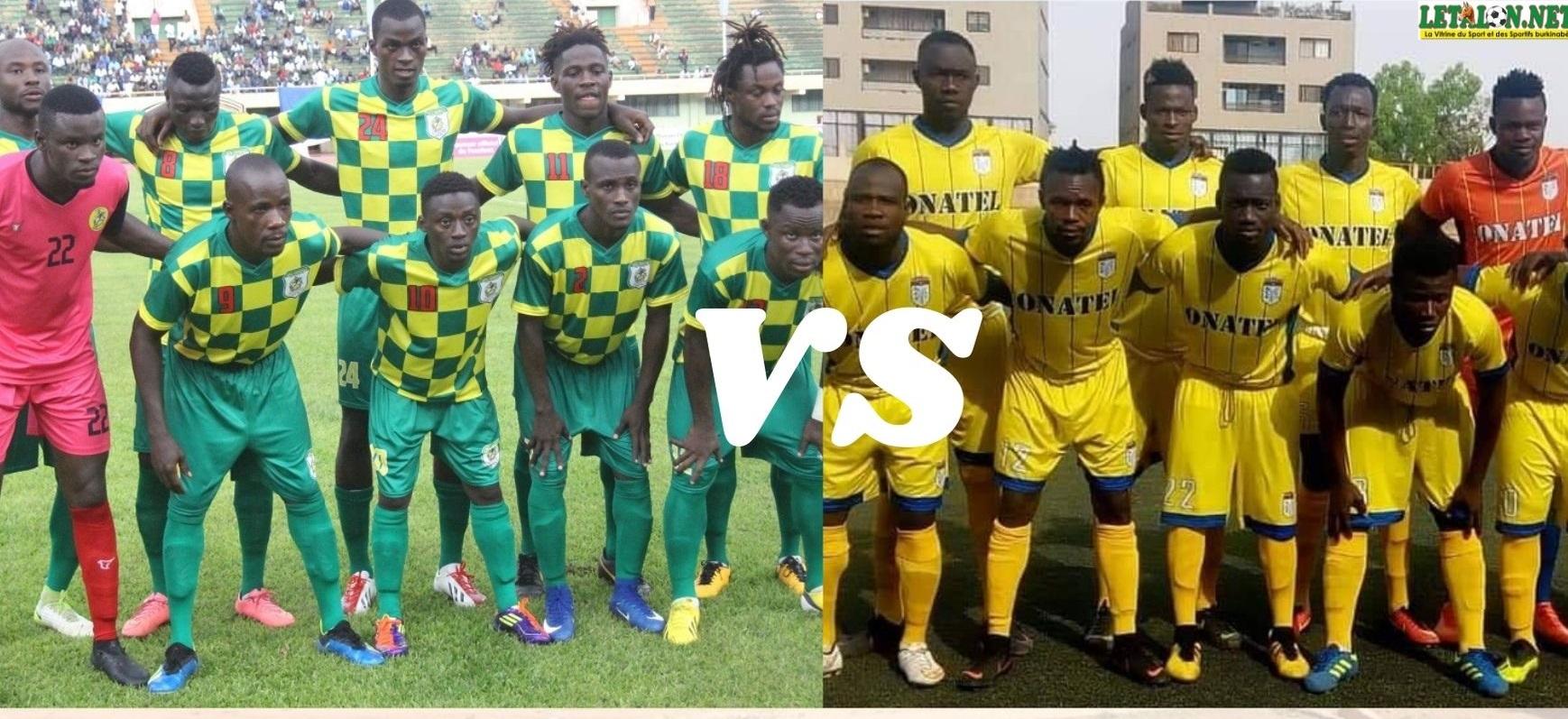 2e journée Fasofoot : ASFA-Y # AS Douanes, duel entre équipes qui jouent le titre