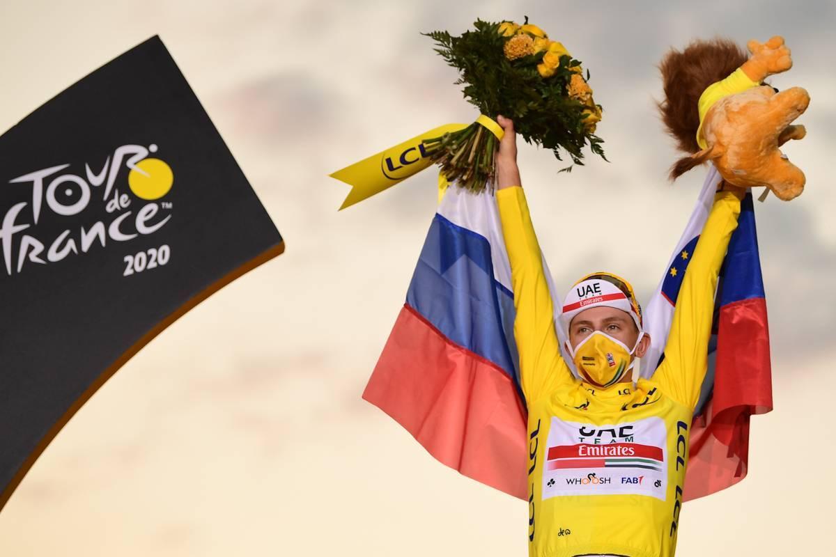 Tour de France: Pogacar remporte l'édition 2020