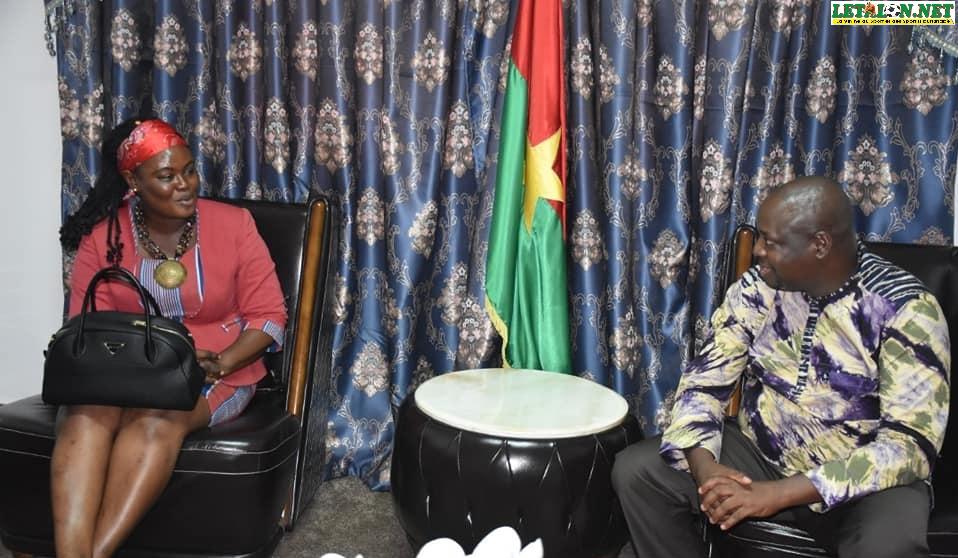 Fédération burkinabè de handball: Stella Tapsoba demande le soutien du CSC