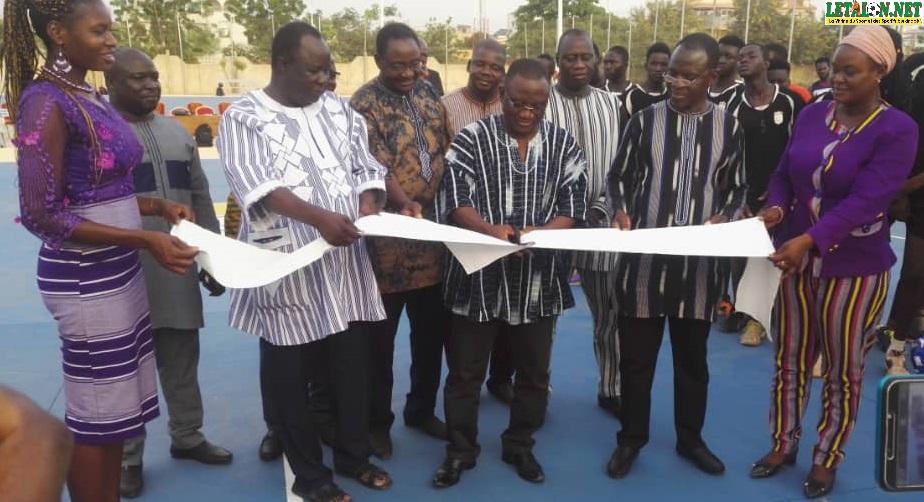 Palais des sports Ouaga 2000: un plateau omnisports de 199 millions F inauguré