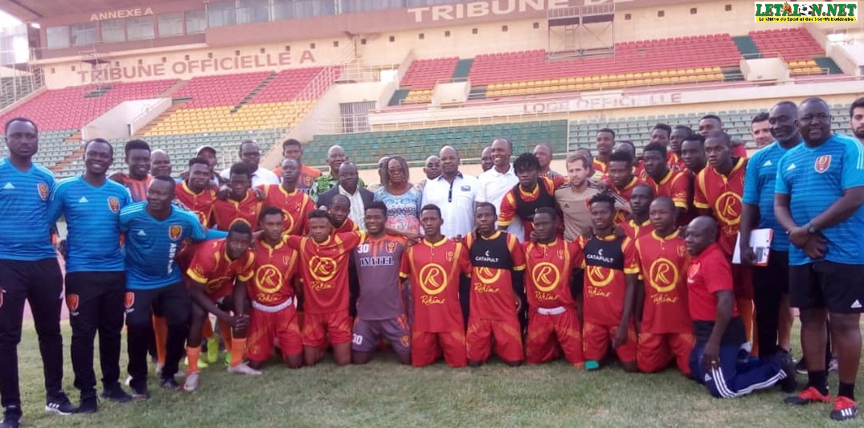 Préliminaire ligue des champions : Lazare Banssé encourage Rahimo FC avec 2 millions