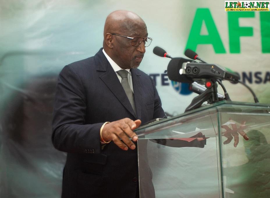 Élections CAF: Jacques Anouma en visite au Burkina ce mercredi