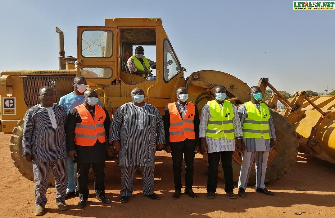 Projet d'aménagement de 350 terrains: la première phase lancée à Ouaga