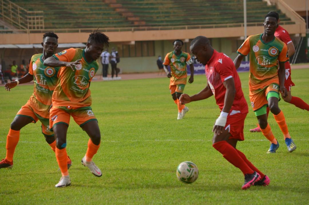 Coupe CAF / SALITAS # ESS 1-0: une victoire historique pour les Colombes
