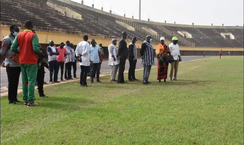 Stade Sangoulé Lamizana: le ministre Nana en colère