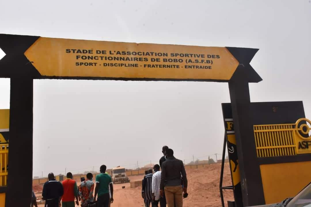 Retard dans les travaux des terrains du RCB et de l'ASFB: Dominique Nana convoque les différentes parties à Ouaga