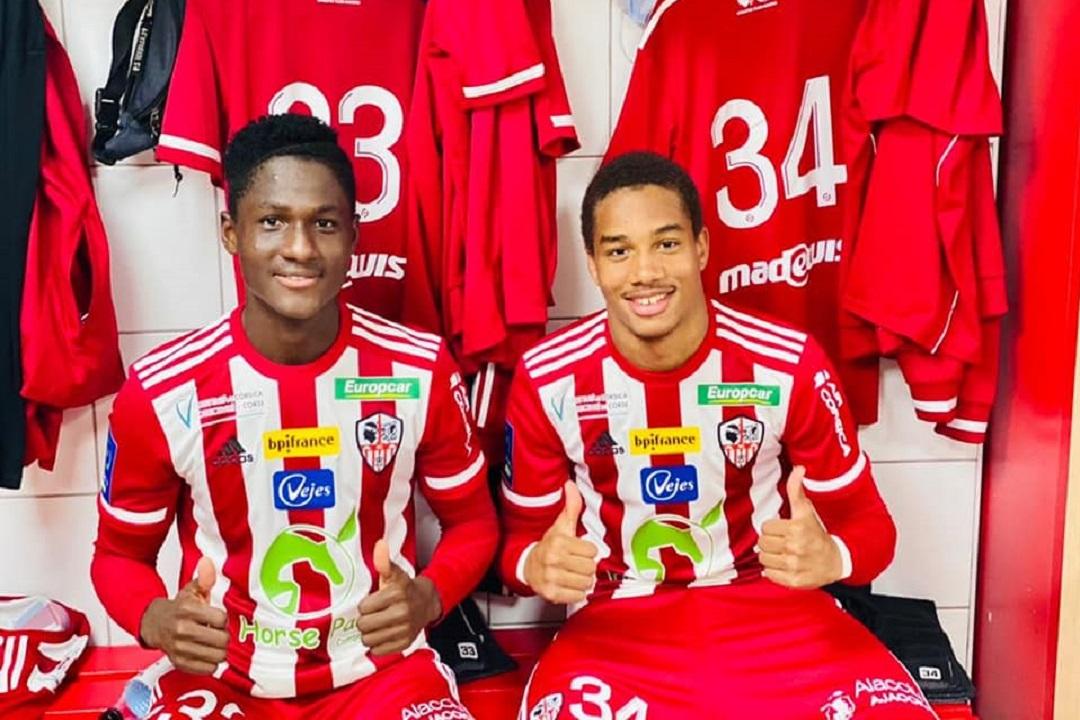 AC Ajaccio /Ligue 2 : Premier match pro pour Botué Kouamé
