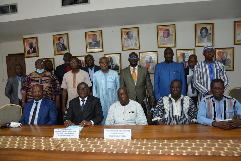 Côte d'Ivoire-Burkina : la coopération sportive en marche