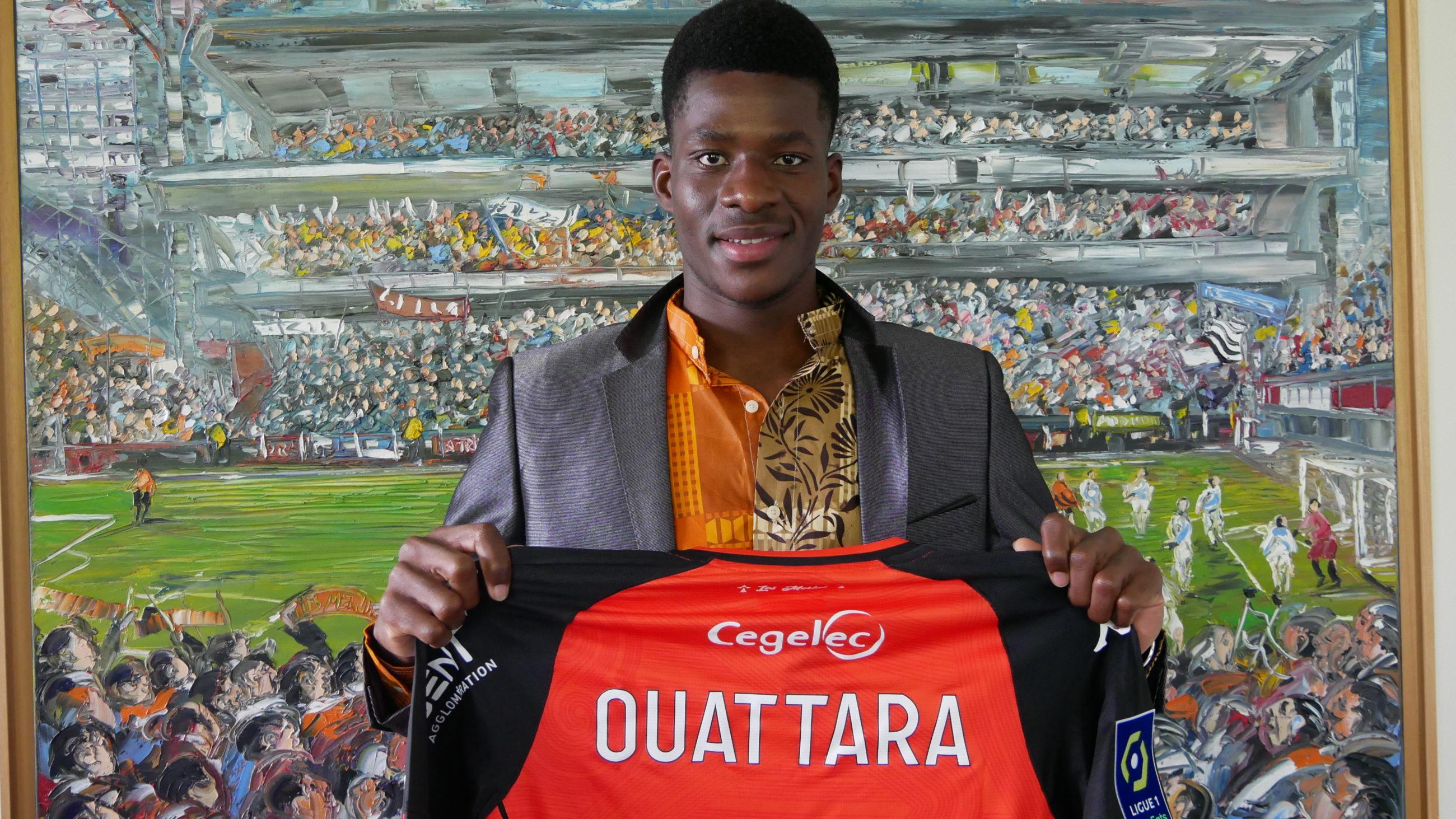 FC Lorient: premier contrat pro pour Dango Ouattara ex-joueur de Majestic SC