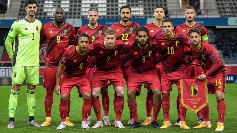 Euro 2021: les 26 Diables rouges de Martinez