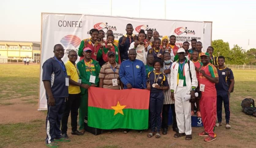 Championnat région 2 : le Burkina termine 2e avec 28 médailles dont 15 dorées