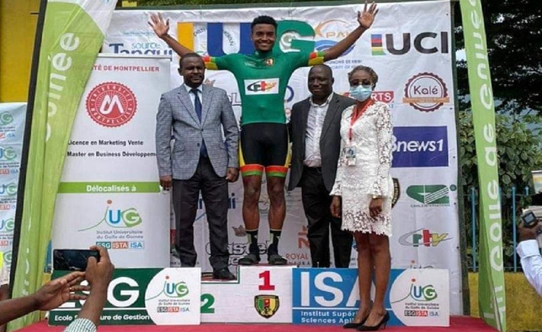 Tour du Cameroun2021 : l'étape finale et le maillot vert pour Paul Daumont