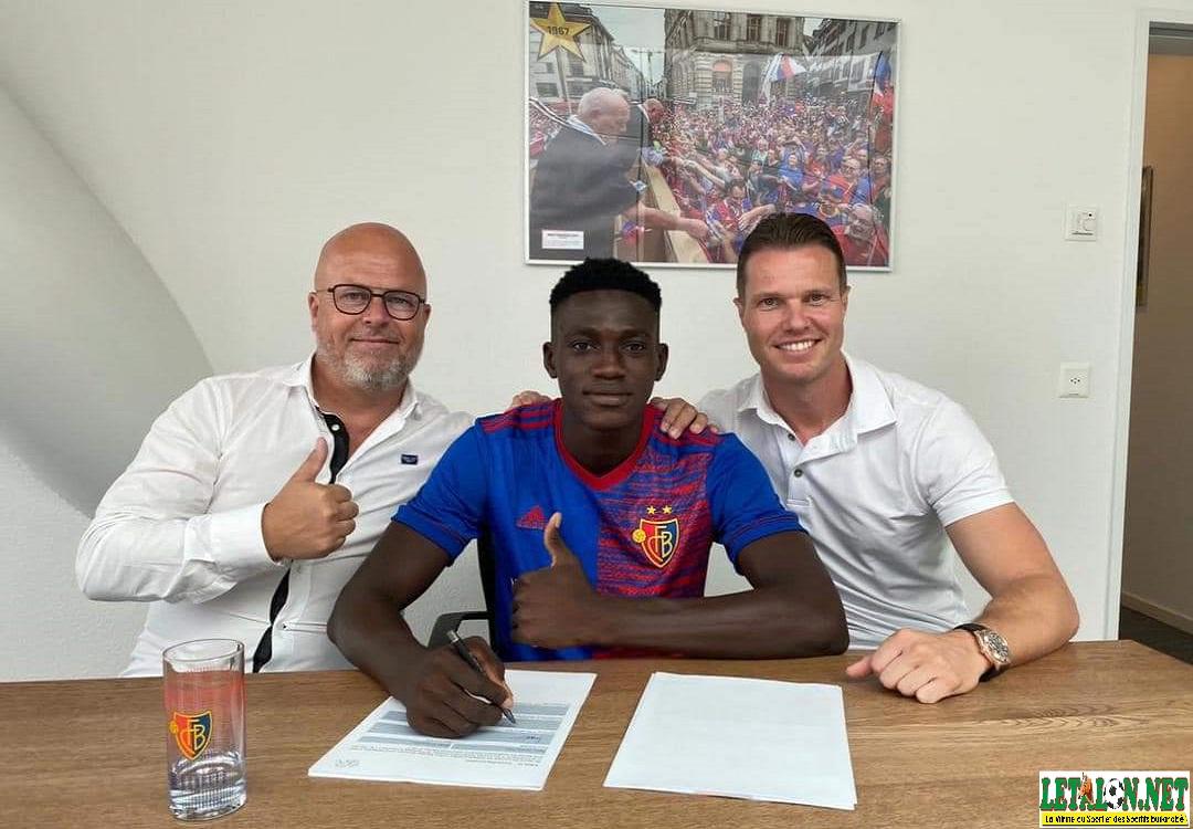 Mercato: Nasser Djiga pose ses valises au FC Bâle jusqu'en 2025