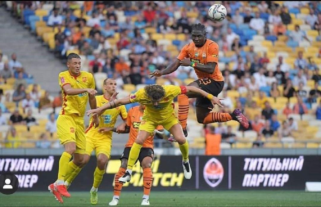 Premier League Ukraine: premier match et premier but pour Franck Lassina Traoré