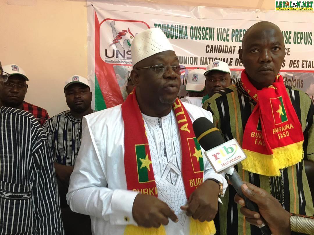 Election présidence UNSE: Ousséni Tougouma promet «Un coup K.O»