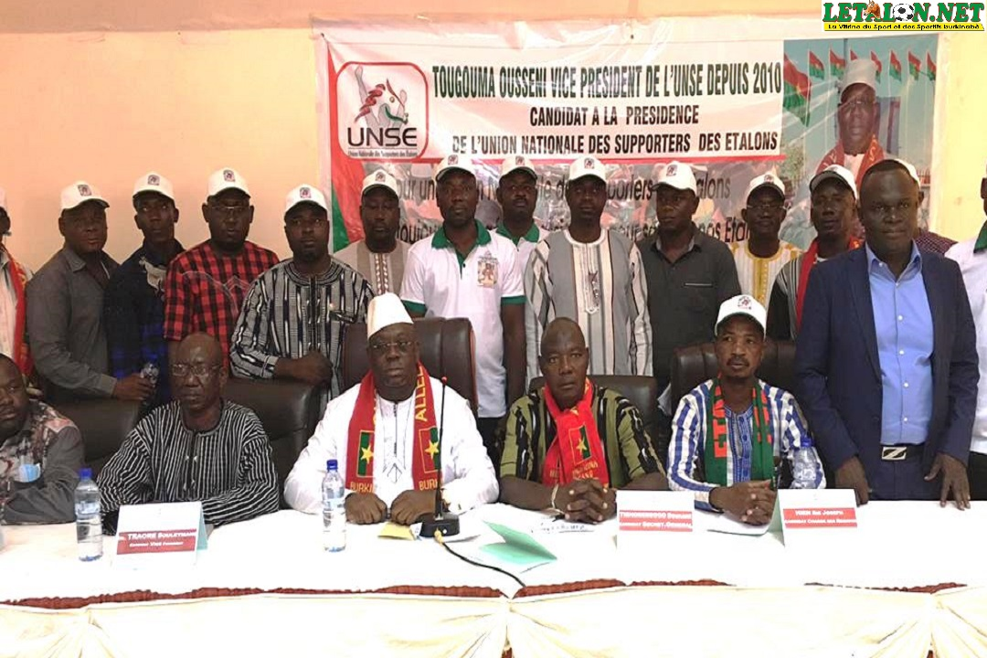 Election à l'UNSE : près de 77 % du collège électoral favorable à Ousséni Tougouma