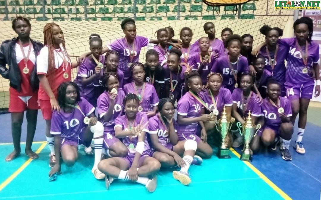 Championnat minime et cadet de handball : Wend-Penga doublement couronné