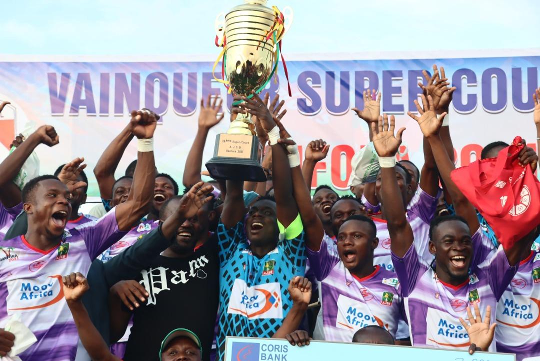 28e Super Coupe AJSB : l'AS SONABEL sacrée vainqueur