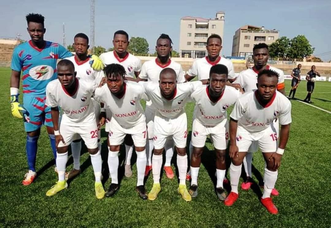 2e journée Ligue 1 LONAB : l'AS SONABEL domine l'AS Douanes 2-1