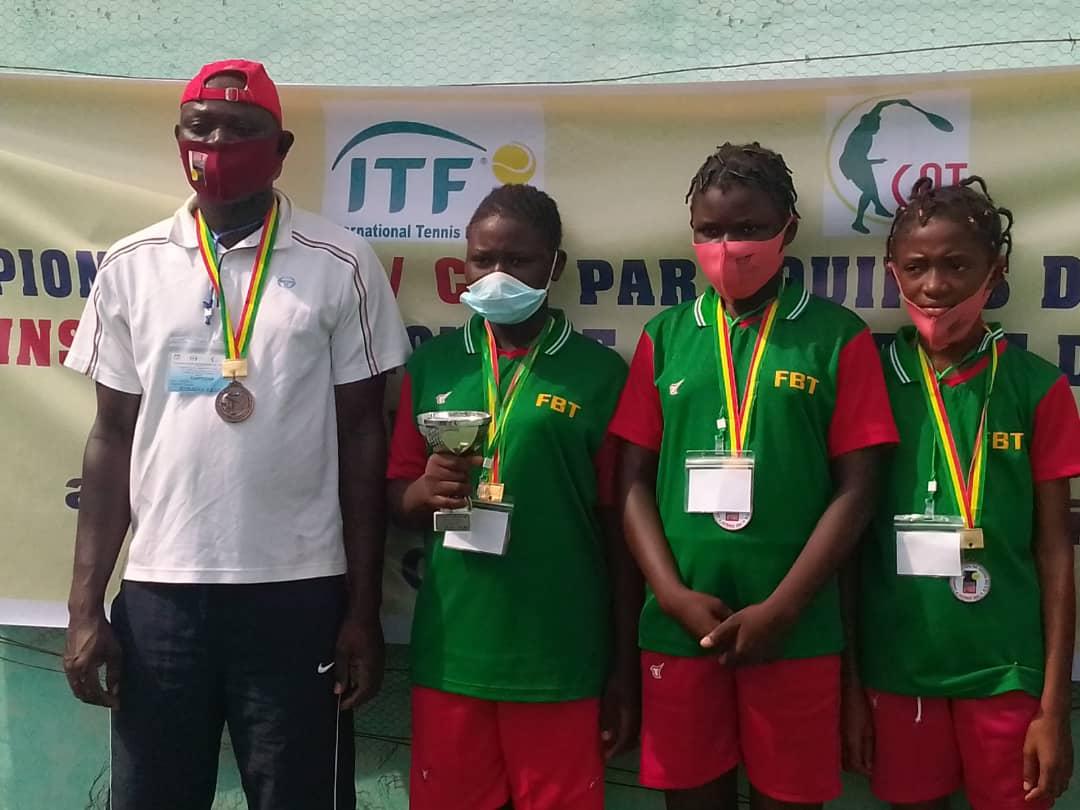 Tournoi ITF/CAT Afrique de l'Ouest et du Centre: le Burkina décroche le bonze à Cotonou